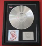 VAN HALEN - 1984 CD / PLATINUM LP DISC